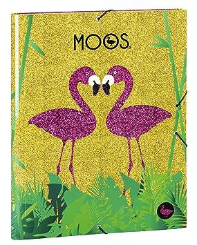 Moos - Carpeta, diseño Flamingo (Safta 511423068): Amazon.es: Juguetes y juegos