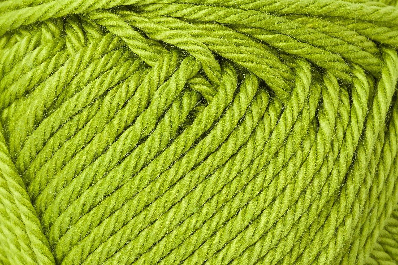 Schachenmayr Ovillo Hilo de algodón para Punto y Ganchillo Catania 9801210, algodón, Manzana, 11,5 x 5,2 x 6 cm: Amazon.es: Hogar