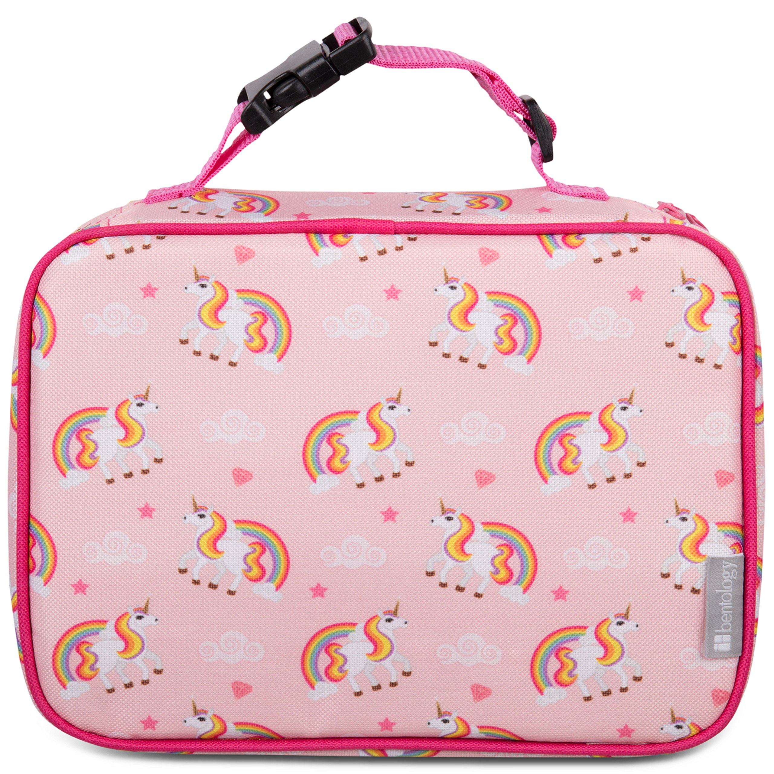 Insulated Lunch Box Sleeve - Securely Cover Your Bento Box (Unicorn)