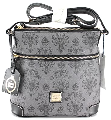 dd0a40580b5 Image Unavailable. Image not available for. Color  Exclusive Limited Disney  the Haunted Mansion Letter Carrier Bag Dooney   Bourke