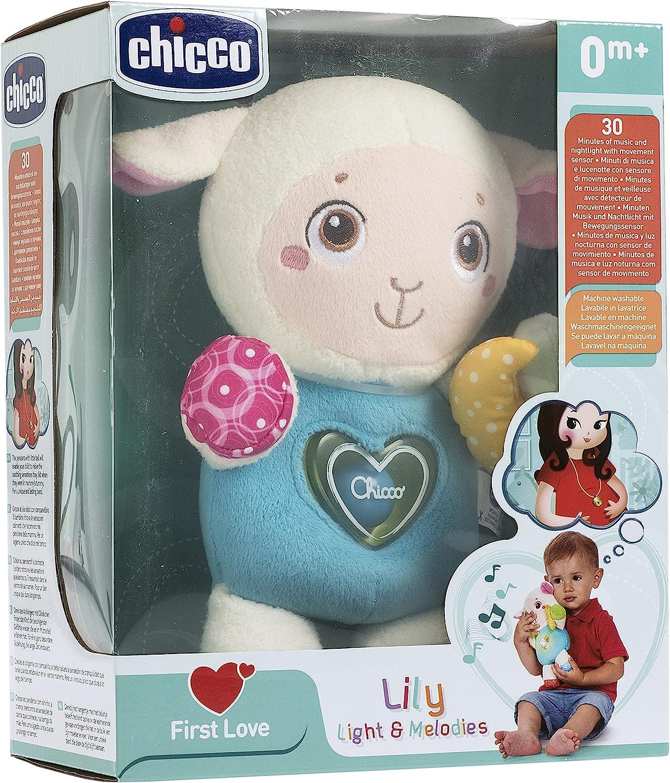 Chicco Lily Luces y Meloddías - Proyector de peluche con luces y ...