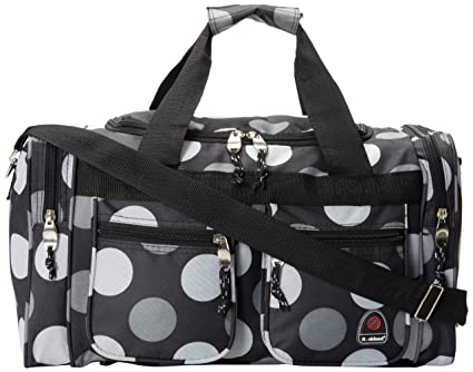 74e5ea598653 Rockland Luggage 19 Inch Tote Bag, Big Black Dot, One Size