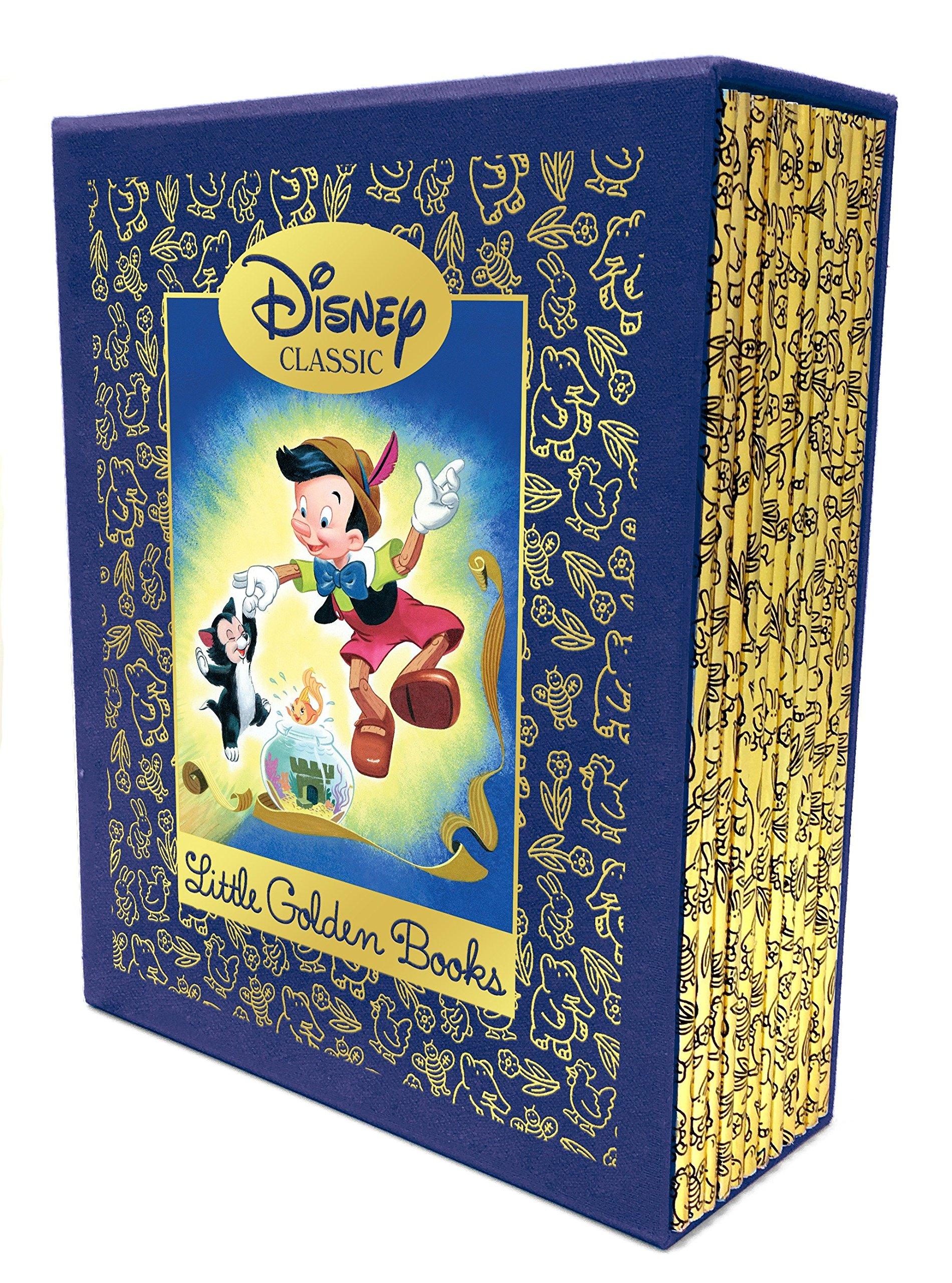 LITTLE GOLDEN 12 BELOVED DISNEY CLASSIC BOX SET Little Golden Book ...