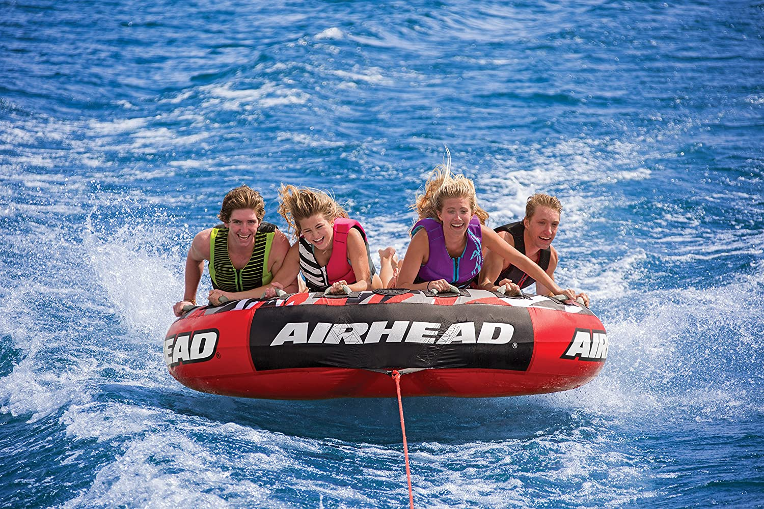 Airhead Mega Slice Sports Outdoors Tow Harness For Towables