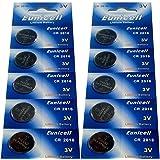 10 x CR2016 Markenware Eunicell 3V Lithium Knopfzelle Eunicell Vertrieb Deutschland