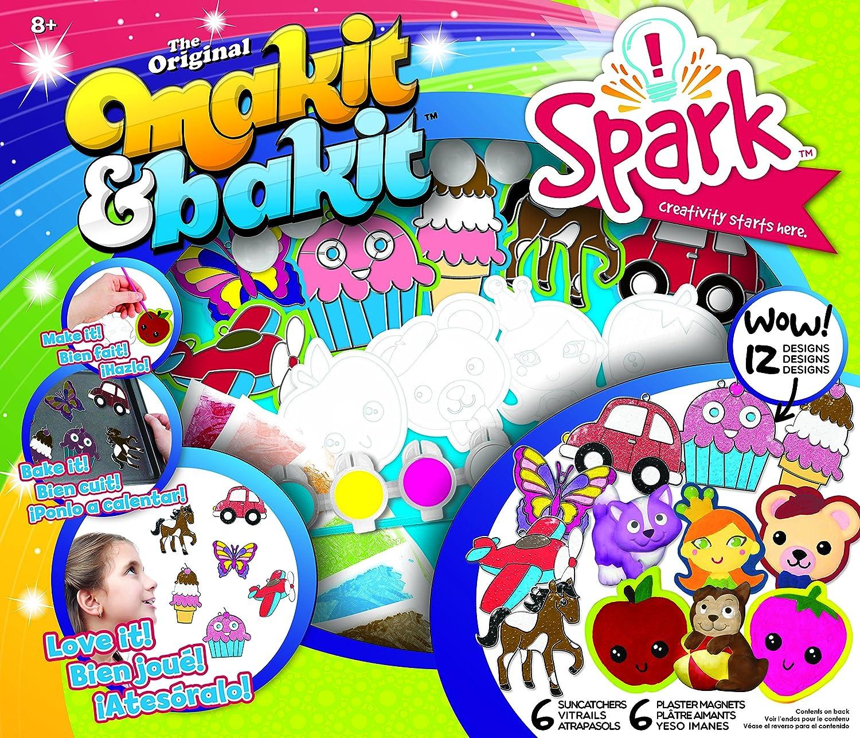 ColorBok 73893 Makit & Bakit Spark Combo 12 PC Kit, Multicolor