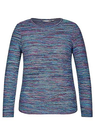 Baumwolle RABE modisches T-Shirt mit farbigen Ringeln