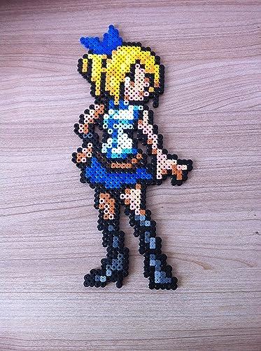 Pixel Art Perler Beads Fairy Tail Lucy Amazon Co Uk Handmade