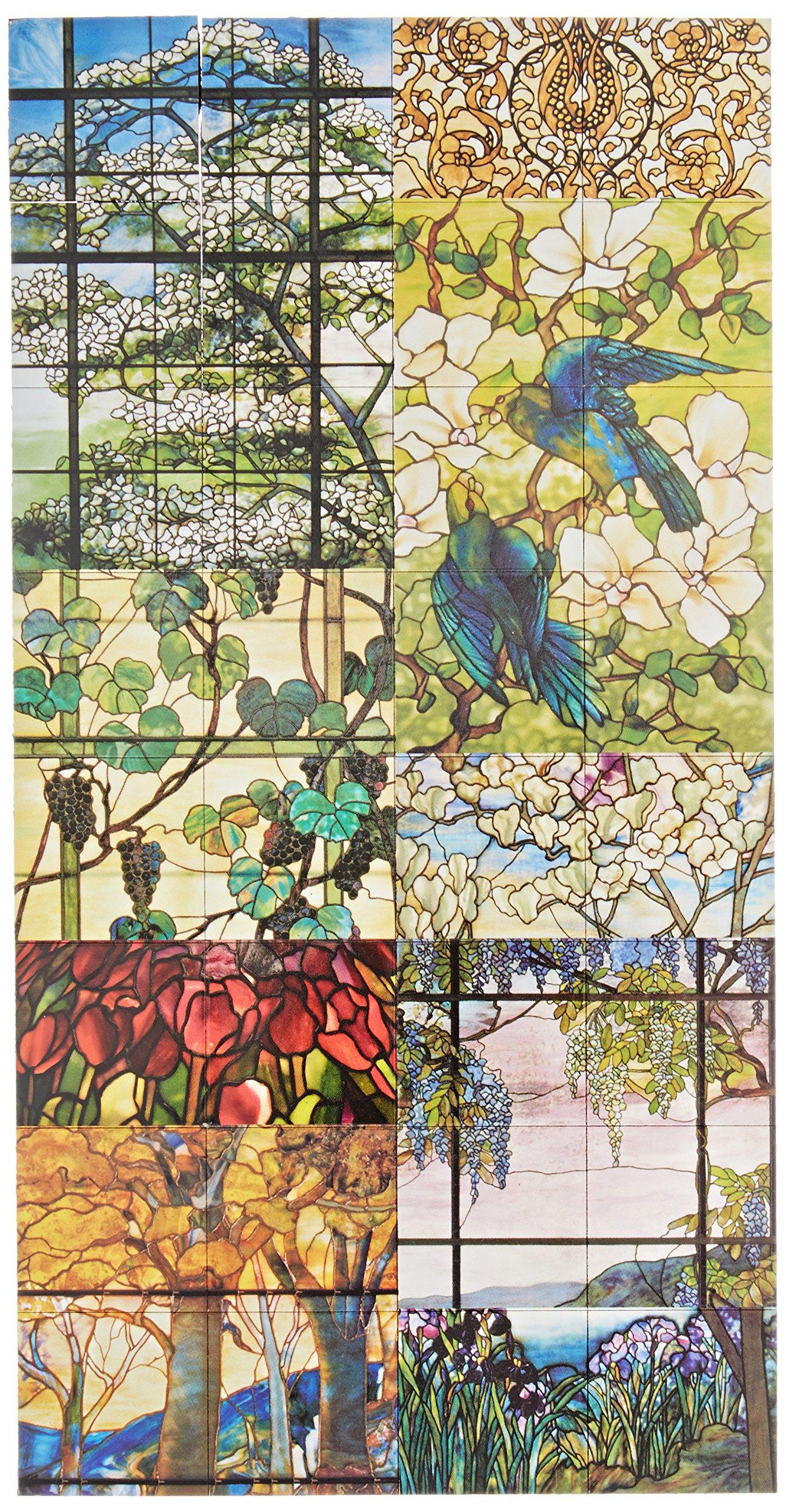 Boston International The MET Flat Magnet Set, Louis Comfort Tiffany, 32-Pieces