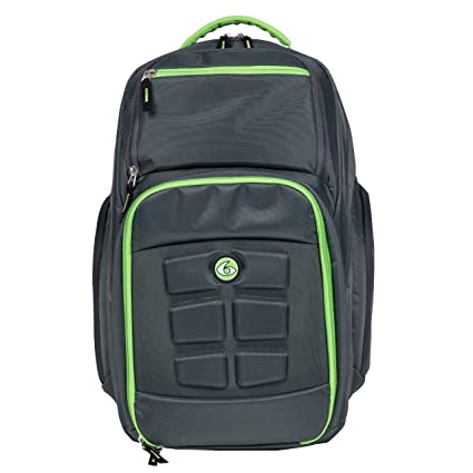 afb93ee8cc76 6 Pack Fitness Expedition Laptop Backpack with Insulated Meal Management  System