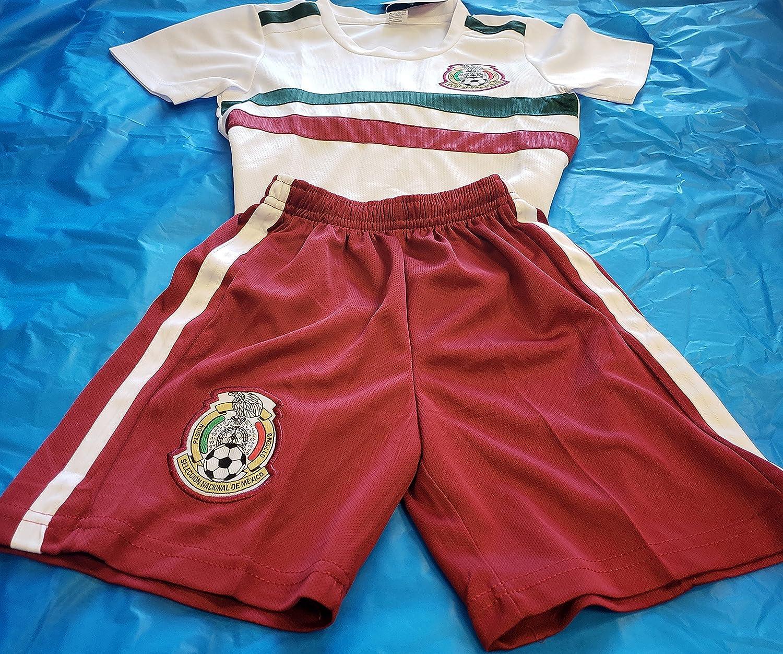 新しい。スポーツChicharito 2018メキシコ国立チームGenericレプリカ幼児3t (2 – 3歳) B07D9Y5CJB