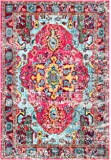 """Oriental Vintage Distressed Abstract Multi Runner Area Rugs, 2 Feet 6 Inches By 8 Feet (2' 6"""" x 8')"""