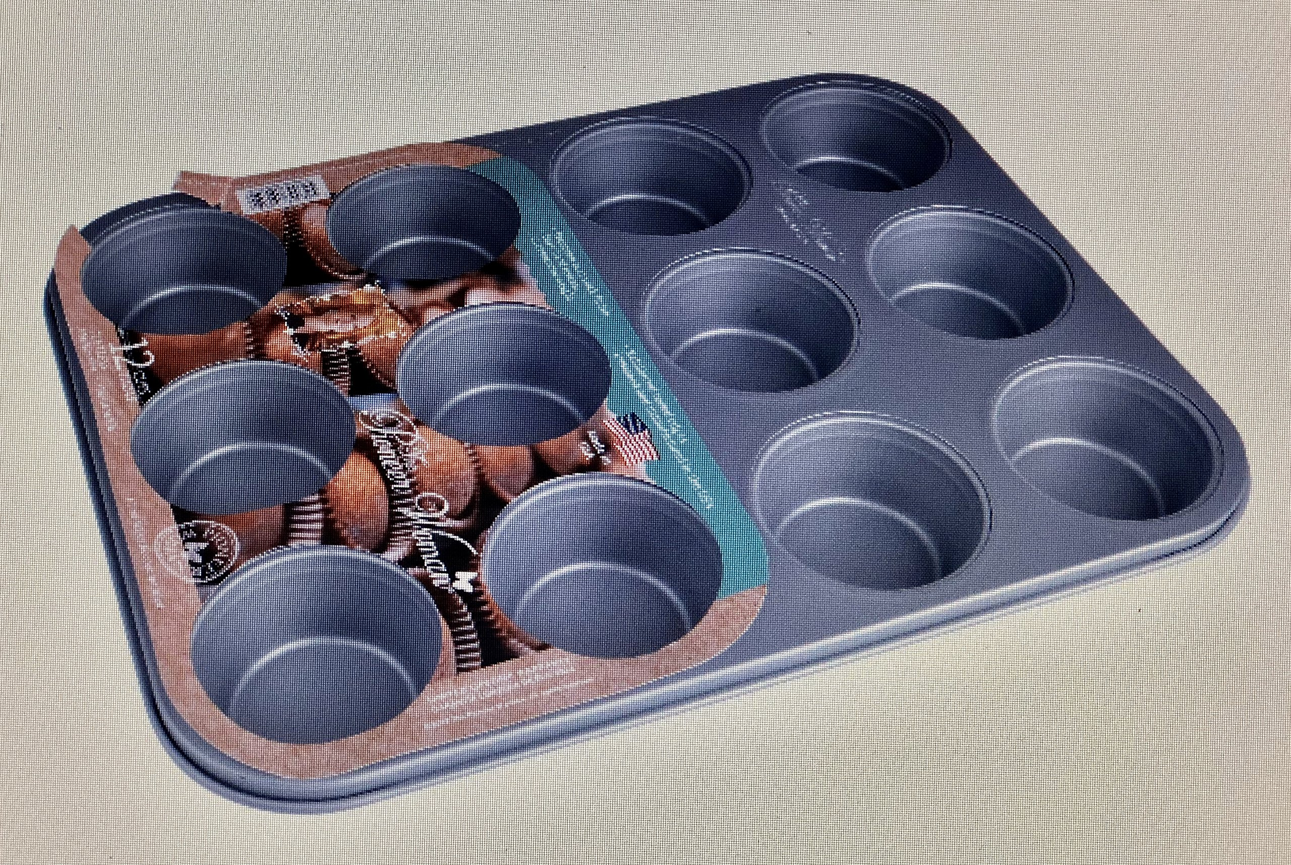 The Pioneer Woman 12 Cup Muffin Pan (Nonstick) by The Pioneer Woman (Image #1)