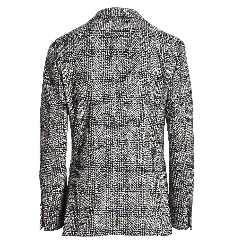 13af42f112d8 Lardini Herren Ie528aeierp49599521 Grau Wolle Blazer  Amazon.de  Bekleidung