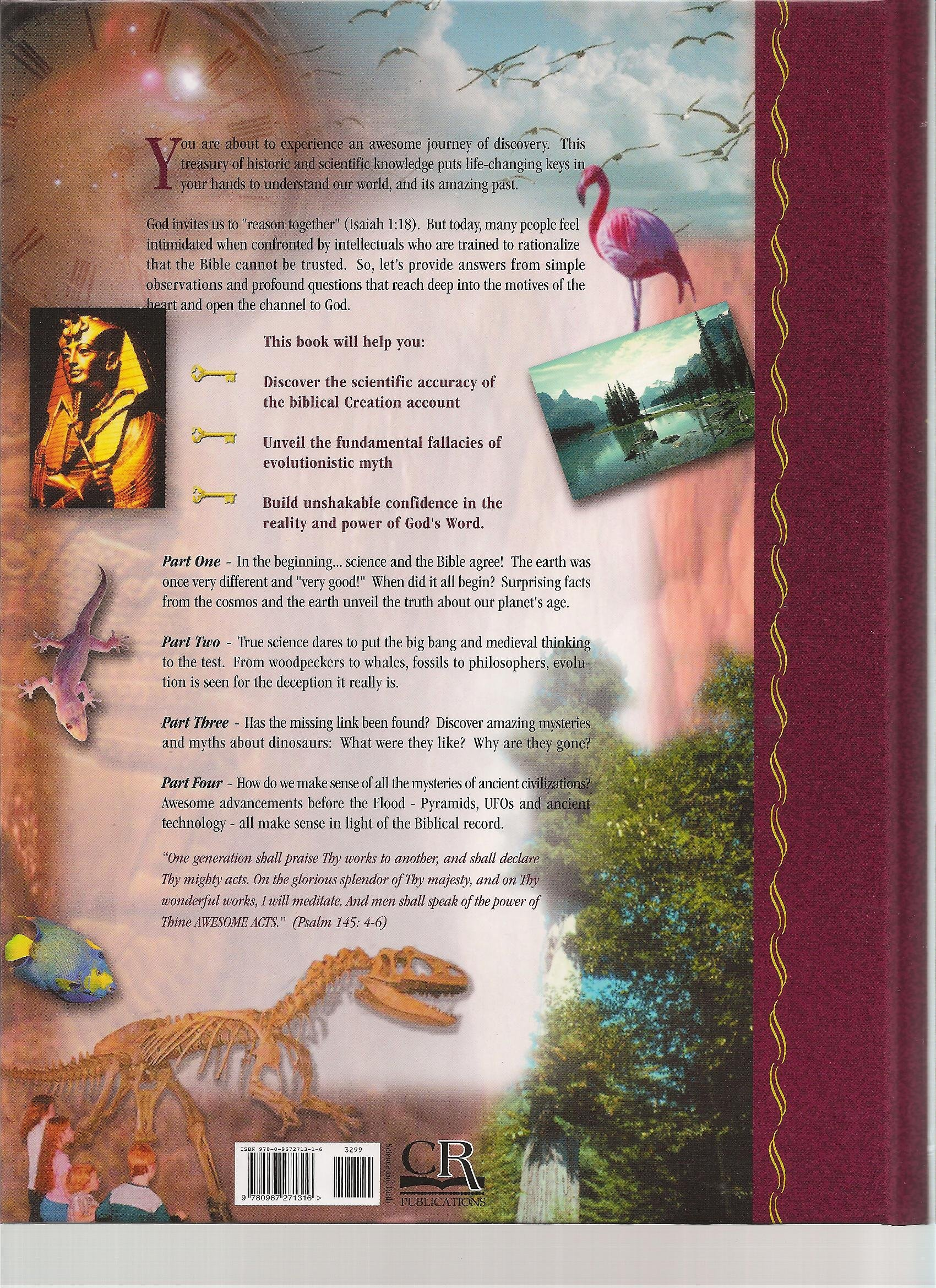 unlocking the mysteries of creation the explorer u0027s guide to the