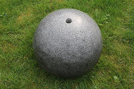 Granite Pierre Sphère boule de jardin boule graphite Ø 30 cm ...