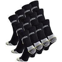 6-12 oder 18 Paar Herren Arbeitssocken - Robuste Atmungsaktive Work Socks - Berufssocken von Cottonprime