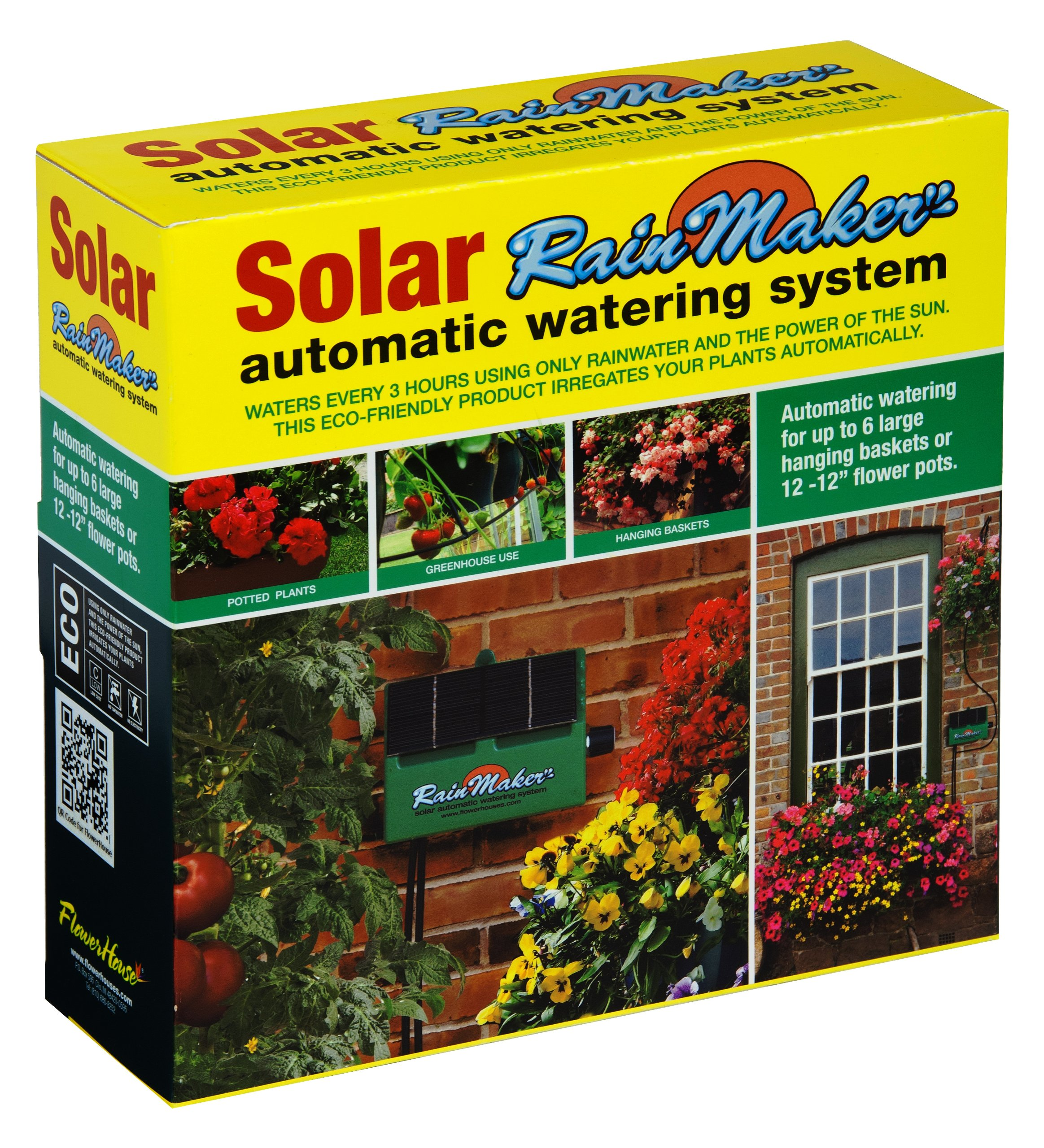 Flower House SOL-K12 Solar RainMaker Automatic Watering System by Flower House