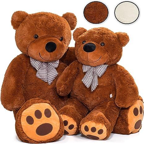 Teddybär XXL 170 cm Plüschtier Kuscheltier Stofftier Teddy Plüschbär Kuschelbär