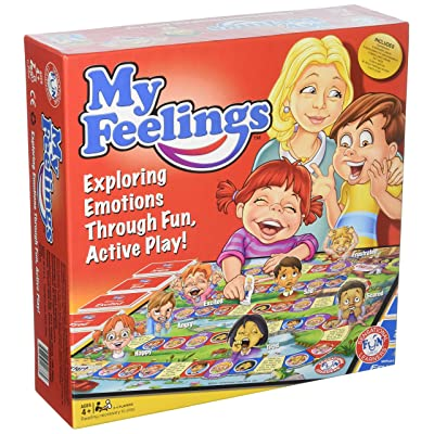My Feelings Game. Fun Educational Family Game to Help Kids Express Their Emotions and Learn self Regulation. Endorsed by Dr Temple Grandin and Other World Renown clinicians and Educators.: Toys & Games
