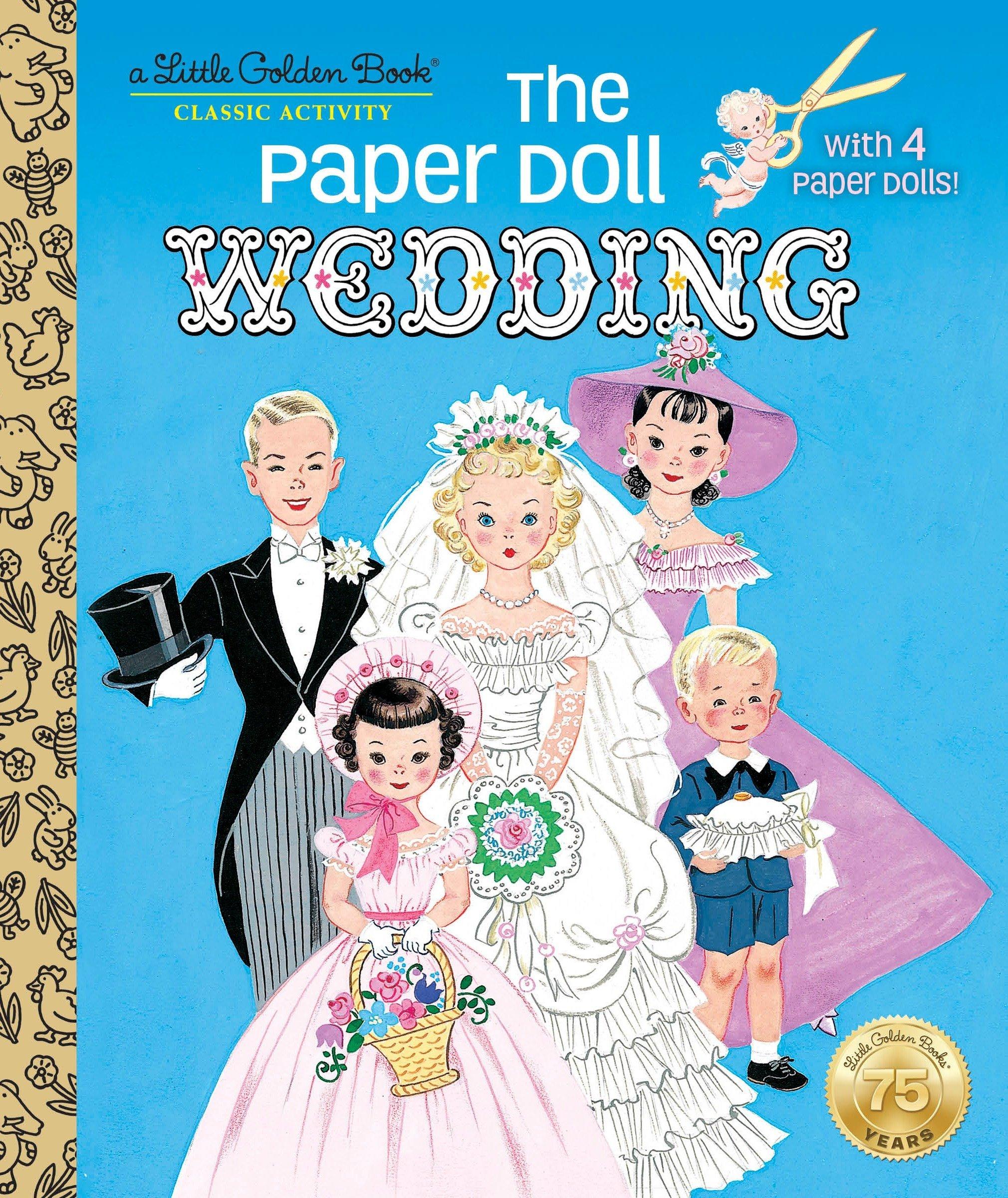 The Paper Doll Wedding (Little Golden Book) pdf