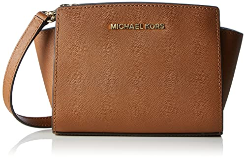 MICHAEL Michael Kors Borsello Mini Selma Tan Unica Taglia  Amazon.it   Abbigliamento f0a8cab6c5d