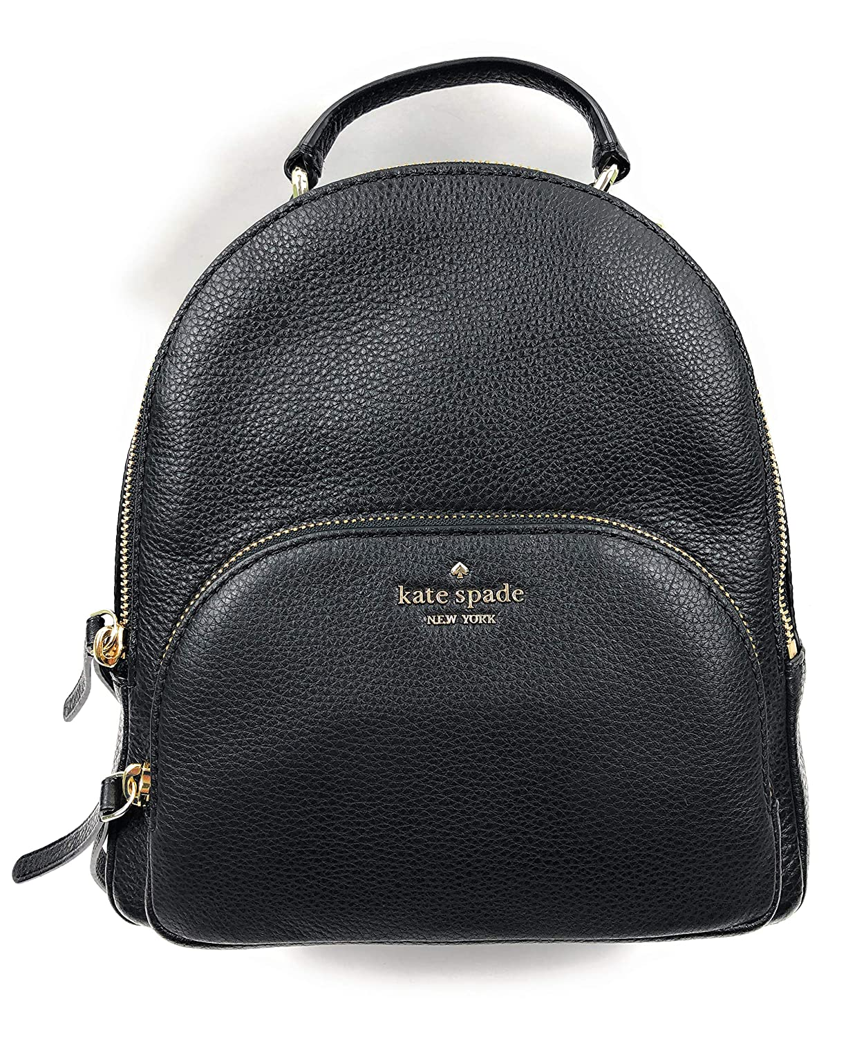 search for newest sells uk store Kate Spade New York Jackson Medium Backpack Pebbled Leather Black