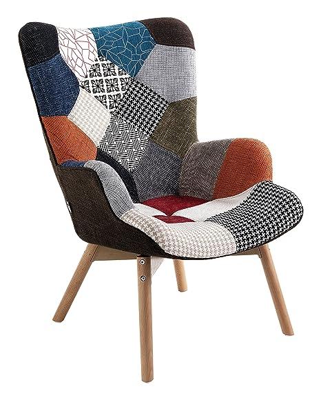 Wink Design Kaleidos-G Poltrona, Tessuto, 67x78x94 cm: Amazon.it ...