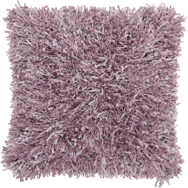 Amazon.com: MISC Lavender Shag Throw Pillow Large Size ...