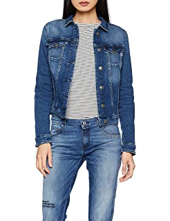 in it Donna Giacca Tommy VIVIANNE Amazon lunghe Jeans Maniche jeans pIqzp4xw