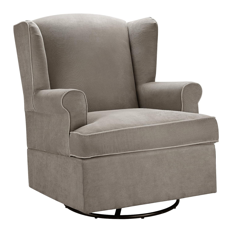 Baby Relax Swivel Glider, Dark Taupe Dorel Home Furnishings WM6095