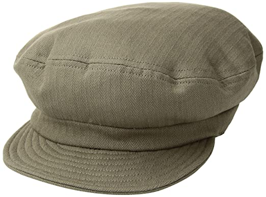 53635bd92c637 Amazon.com  Brixton Men s Fiddler Unstructured Greek Fisherman Hat ...