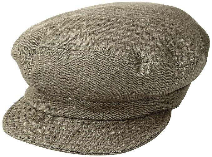 Amazon.com  Brixton Men s Fiddler Unstructured Greek Fisherman Hat ... e65973c33087
