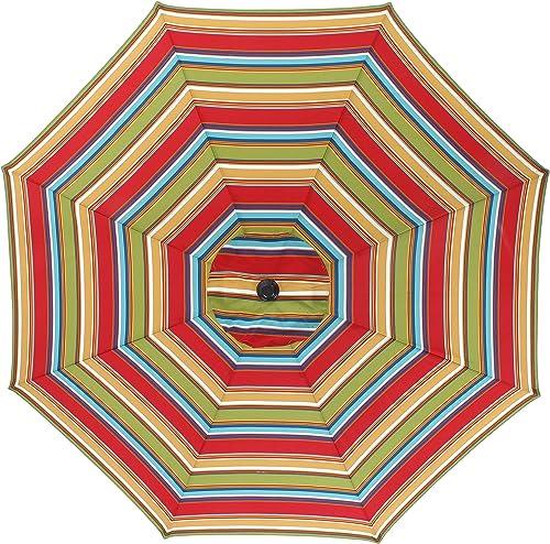 Pillow Perfect Westport Garden 9-foot Patio Market Umbrella