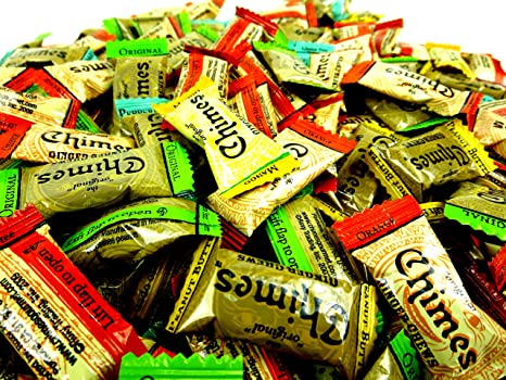 Chimes Ginger Chews 5-flavor Variedad: One 1 Lb, varios ...