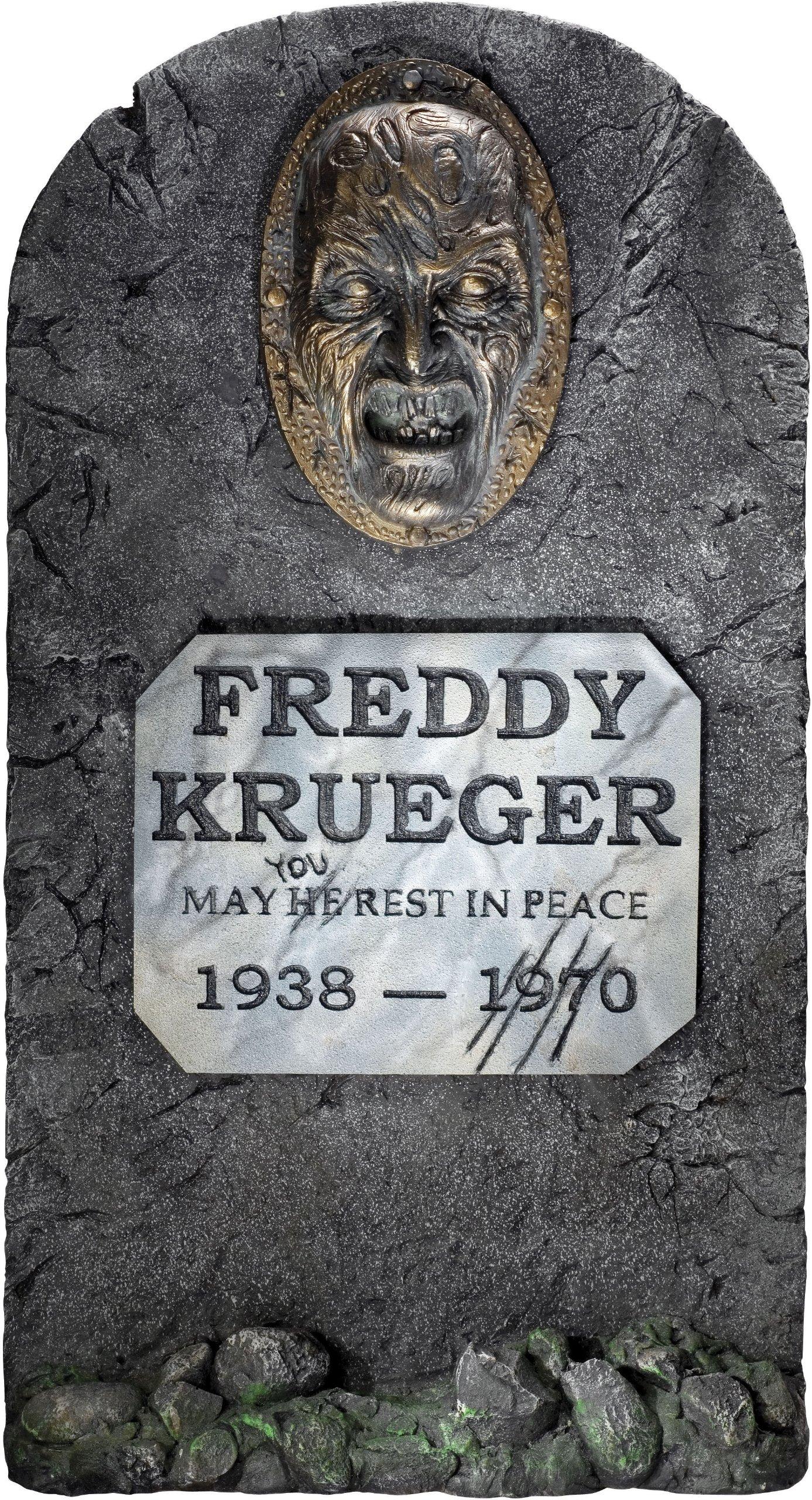 Rubies Nightmare on Elm Street Freddy Krueger Headstone Party Decoration
