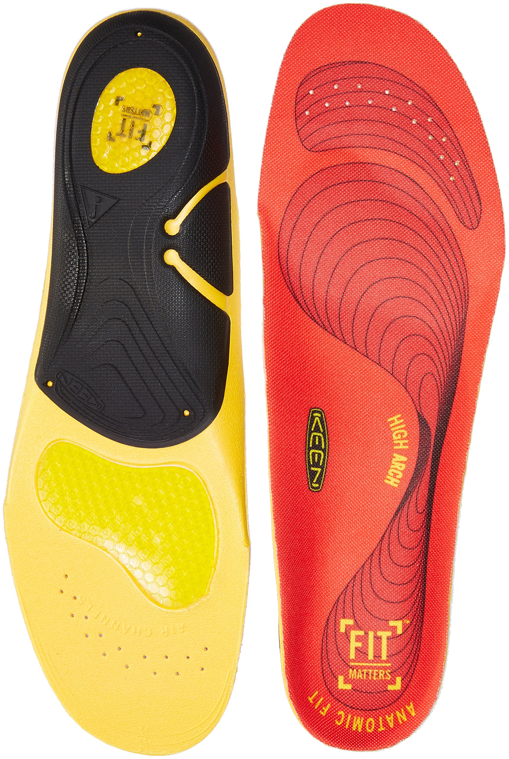 Keen Utility K-30 High Arch Insole,Red,12.5 - 14