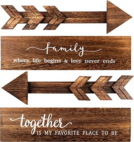 Wall Door Decor Living Room Jetec Rustic Family Wall Sign Large Wooden Hanging Wall Sign Farmhouse Home Sign Wall Decor for Bedroom