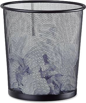 Papierkorb Metall Abfallsammler Mülleimer Papiereimer Drahtkorb Papiersammler