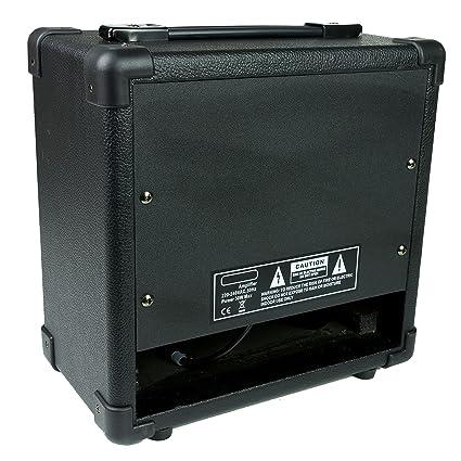 RockJam RJ20WAMP - Amplificador de guitarra: Amazon.es: Instrumentos musicales