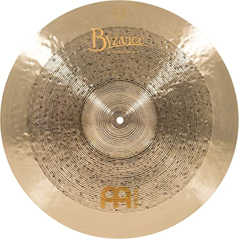 2-YEAR WARRANTY B18EDTC Meinl Cymbals Byzance 18 Extra Dry Thin Crash /— MADE IN TURKEY /— Hand Hammered B20 Bronze