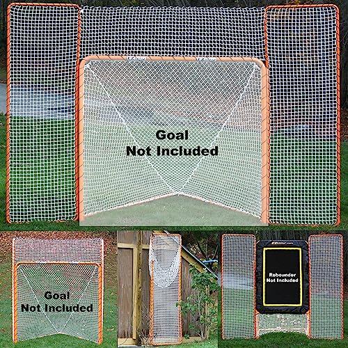 EZGoal Monster Lacrosse Backstop Rebounder, 11 x 8 , Orange