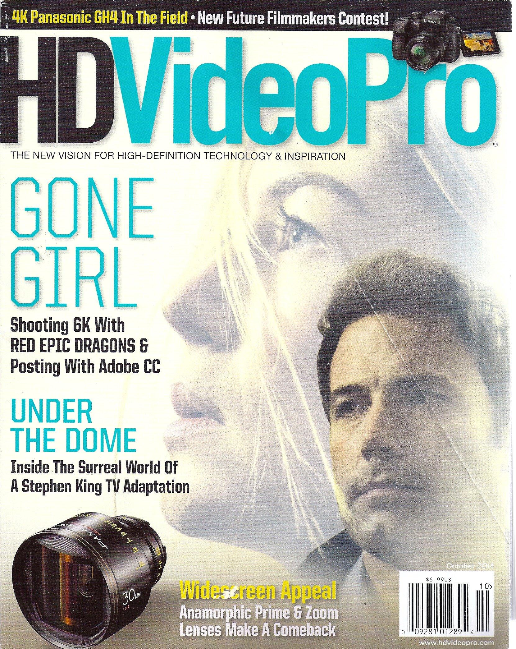 Rosamund Pike & Ben Affleck (Gone Girl) * Stephen King (Under the Dome) * November, 2014 HD Video Pro Magazine PDF