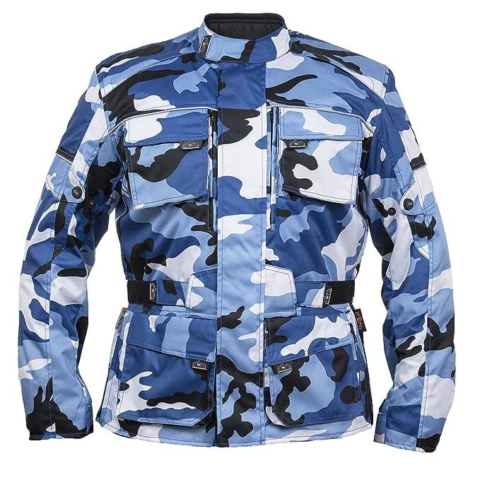 Herren Camouflage Textil Motorradjacke Fashion Wm Motorrad Camo Belüftet Winddicht Jacke Wasserdicht 3Ac5RqjLS4
