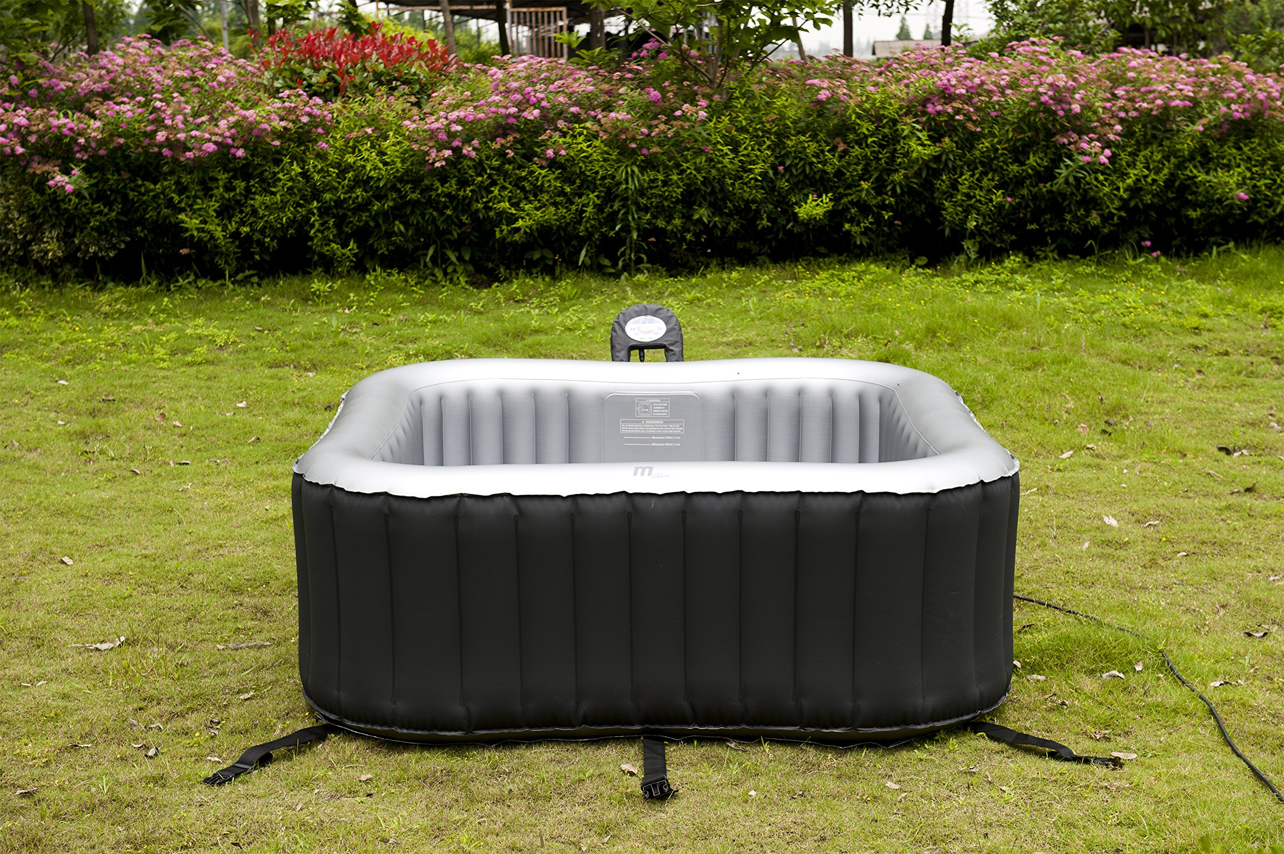 MSPA Lite Alpine Square Relaxation and Hydrotherapy Outdoor Spa M-009LS by M-SPA (Image #7)