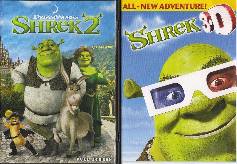 Amazon.com: Shrek 2 , Shrek 3-D : Shrek 2 Pack Collection: Eddie Murphy:  Movies & TV