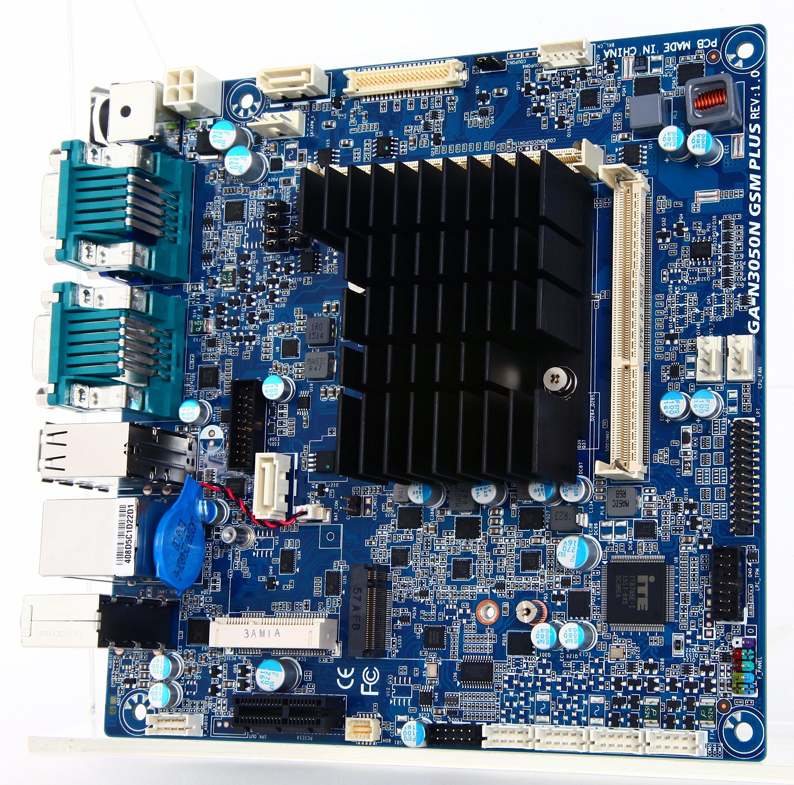 GIGABYTE GA-N3050N GSM PLUS Motherboard & CPU Combo by Gigabyte (Image #3)