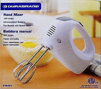 Amazon.com: DURABRAND HAND MIXER: Dura Brand Hand Mixer: Kitchen ...