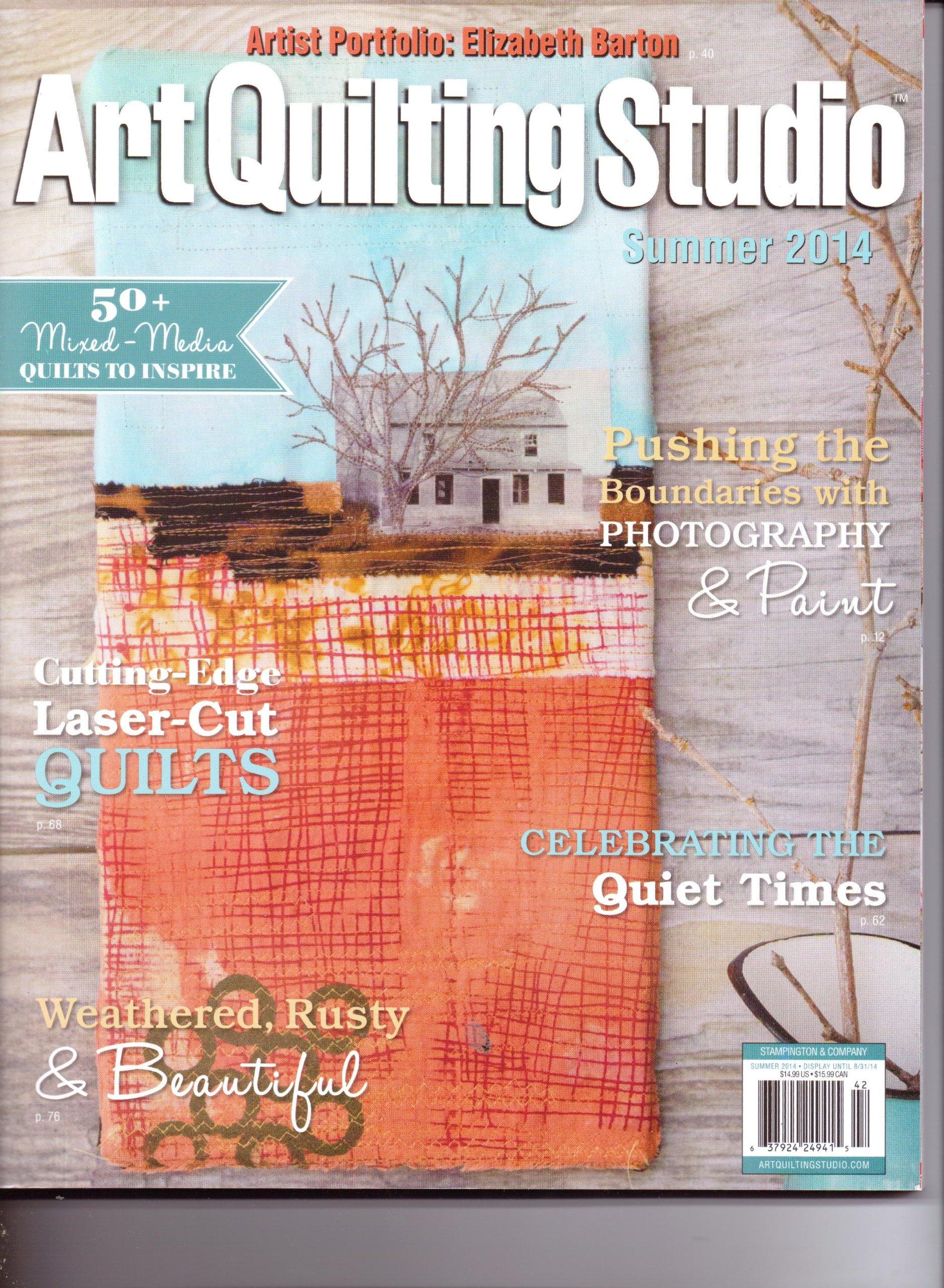 Download ART QUILTING STUDIO - Volume 6. Issue 2. SUMMER 2014. pdf epub