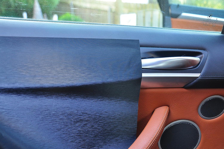 Mittelkonsole T/ürleisten 12 tlg Aschenbecher passend f/ür Ihr Fahrzeug Carbon schwarz Interieurleisten 3D Folien SET 100/µm stark